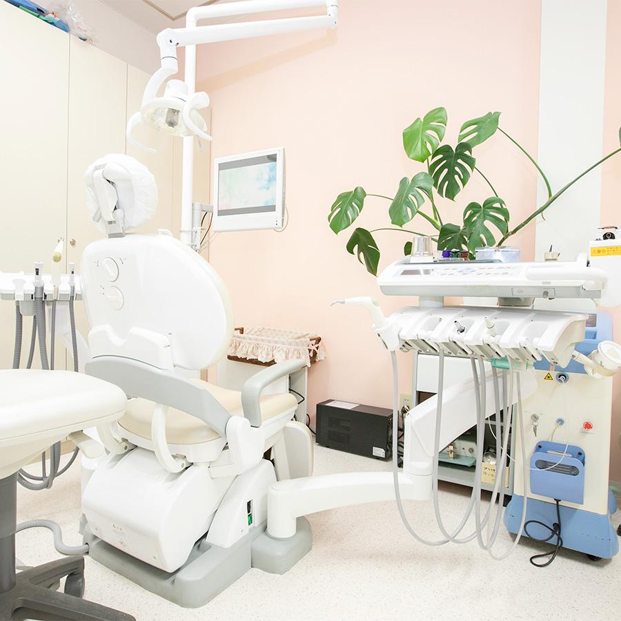 もとはら歯科クリニックの内観